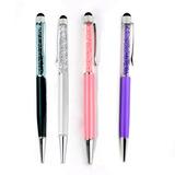 Pluma Stylus Pen Smartphone Capacitivo Y Cristales Ay9