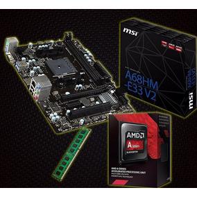 Kit Gamer A8-7650k + Msi A68hm-e33 Fm2 + 8gb Mem C/nfe