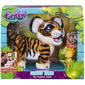 Tyler O Tigre Brincalhão Com Mecanismo 40 Cm Furreal Friends