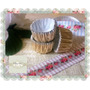 Pirotines Mini Cup Trufas Bombon Num N 5 Dorados - X 30 Unid
