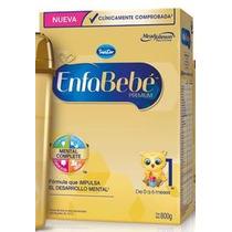 Leche Enfa Bebe 1. 6 Estuches De 800g C/u. De 0 A 6 Meses.