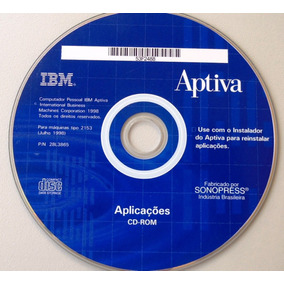 Cd Ibm Aptiva - Aplicativos -1998