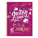 Caderno Universitário 10 Matérias Capricho 200 Folhas