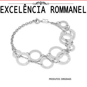 Pulseira Rommanel Tripla Dez 10 Mandamentos Rodio 150207