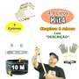 Chapiscadeira De Argamassa E Reboco 4.9 L- 4 Ejetores Kit4