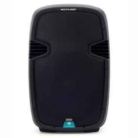 Caixa De Som Amplificadora 300w Trolley 15 Bluetooth Sp220