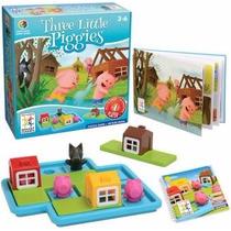 Los 3 Cochinitos Juego De Estrategia Infantil Smart Games