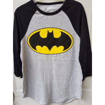 Playera Batman Raglan Hot Topic Original