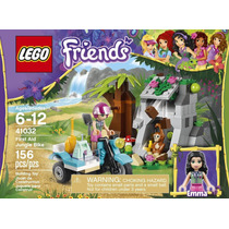 Lego Friends 41032 La Moto Todoterreno De Primeros Auxilios