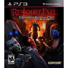 Jogo Ps3 Resident Evil Operation Raccoon City Promoção Se
