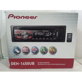 Reproductor De Carro Pioneer Deh-1450ub 100%original