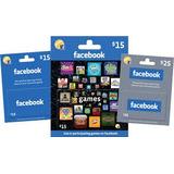 Tarjetas Facebook Usa (gift Game Card) $5 $10 $25
