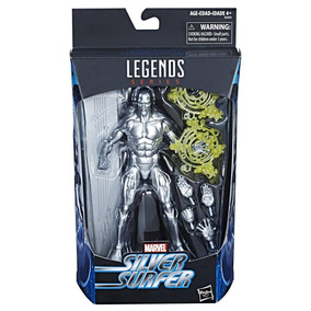 Figura Silver Surfer 6 Pulgadas Marvel Legends