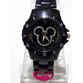 Mca.disney Reloj Mickey Mouse Para Dama Cristales Envio Gtis