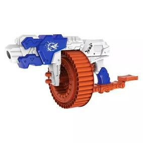 Metralhadora Lançador Dardos Nerf Super Shot Turbo