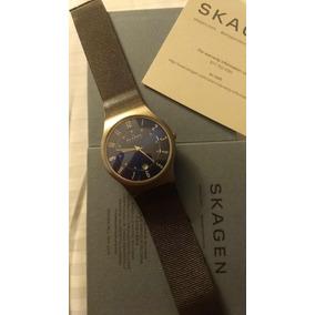 d86ca4b460e Relogio Skagen Denmark 233xlstm Titanium Outras Marcas - Relógios De ...