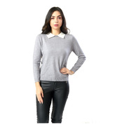 Suéter Feminino Casual  Miss Yes 1922