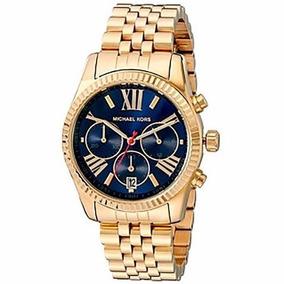 811165ed862 Relógio Kzr5409 Feminino Michael Kors Mk6206 Dourado Top Top