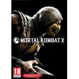 Mortal Kombat X 10 Steam Key Juego Pc Original