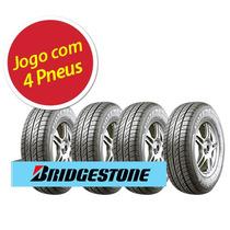 Kit 4 Pneu Aro 13 Bridgestone 165/70r13 Potenza Re 740 79t