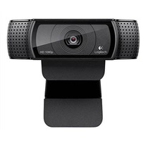Logitech Hd Pro Webcam C920 1080p De Vídeo Panorámica De Lla
