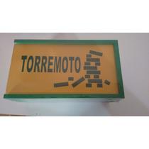 Brinquedo Pedagógico De Madeira - Torremoto