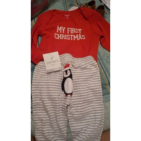 Conjunto Carters My First Christmas (mi Primera Navidad) 18