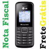 Celular Simples Barato Lg B220 Dual Chip Tim Oi Vivo Claro +