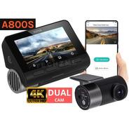 Camera Veicular Automotiva Xiaomi 70mai A800 4k Dual Carro