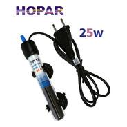 Termostato Com Aquecedor Hopar 25w H-386 110v Para Aquários
