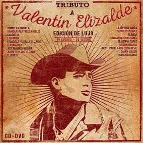 Tributo A Valintin Elizalde Disco Cd + Dvd Deluxe