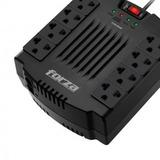 Alargue Zapatilla Regulador Voltaje Forza 1200va 600w Febo