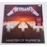 Vinilo Metallica - Master Of Puppets - Envío Gratis