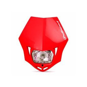 Carenagem Farol Universal Motos Trilha Vermelha