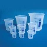 Copo Becker Plástico Forma Baixa 100ml Bequer Polipropileno