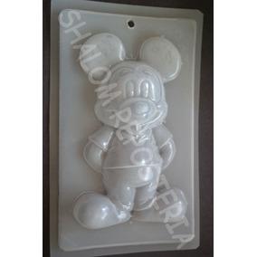 *molde Mediano Para Gelatina De Mickey Mouse De Pie Disney *