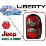 05-07 Jeep Liberty Calavera Trasera Lado Derecho