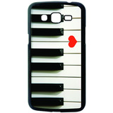 Case Capa Musica Piano Love Samsung Galaxy J5