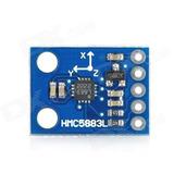 Brujula Digital Magnetrometro Hmc5883l, Raspberry, Arduino