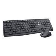 Teclado Y Mouse Inalambrico Logitech Mk235 Usb Ideal Oficina