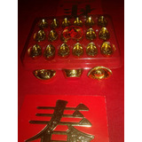 Lingotes Dorados Fenshui Zen Pequeños
