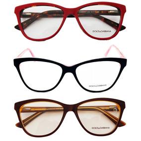 9cf5bffc94fb4 Armação P  Oculos De Grau Gatinho Dg 3229 Feminino Quadrado