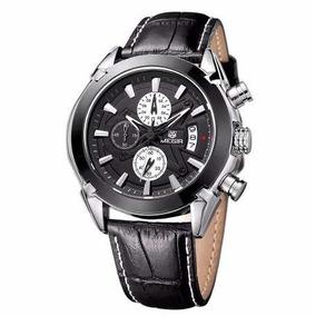 Relógio De Luxo Megir 2020 Cronógrafo Top Luxo