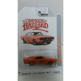 Miniatura Dodge Charger General Lee Custom 1/64 Os Gatões