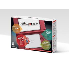 Promoção Console Nintendo New 3ds Xl - New Red