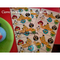 Candy Bar Etiquetas Autoadhesivas Para Golosinas Angry Birds