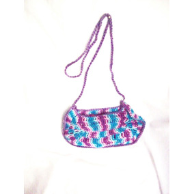 Aurojult Artesanal Bandolera-diseño-tejida Crochet-niñas/ad
