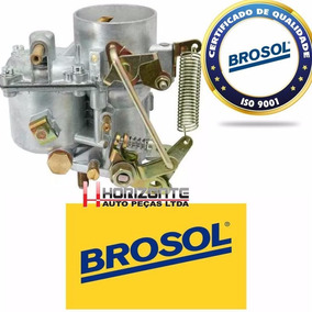 Carburador Simples Fusca 1300 Original Solex Brosol Novo