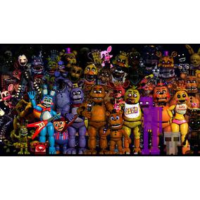 Kit Festa Painel, Fnaf Five Nights At Freddy