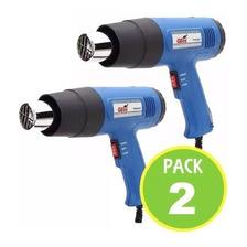 Pack 2 Pistola De Calor Aire Caliente 1800w
